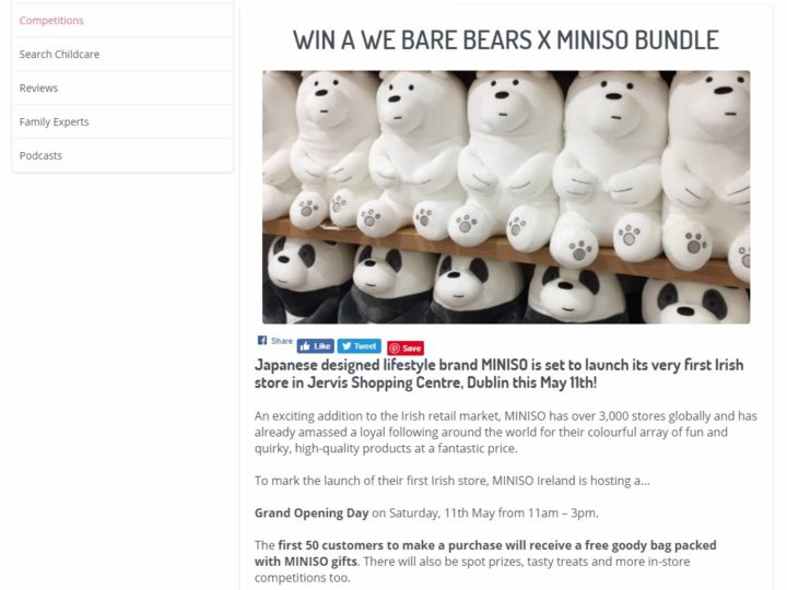 MINISO on Family Friendly HQ