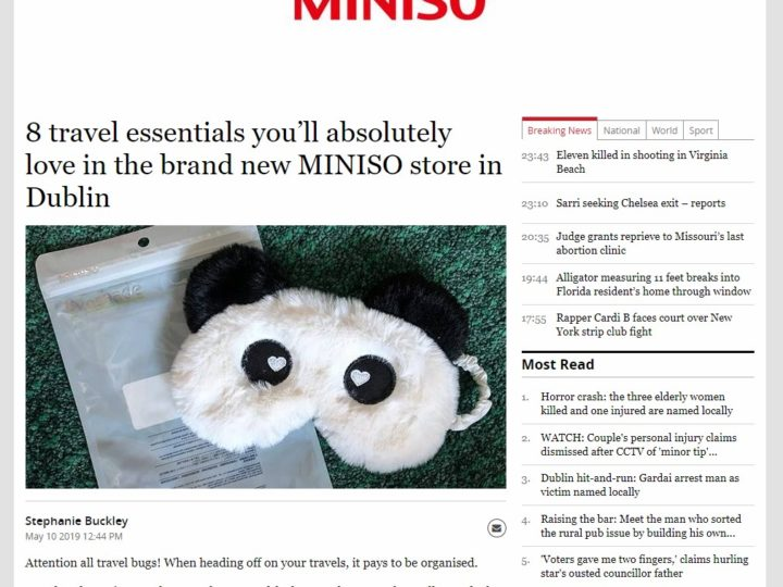 MINISO on Independent.ie