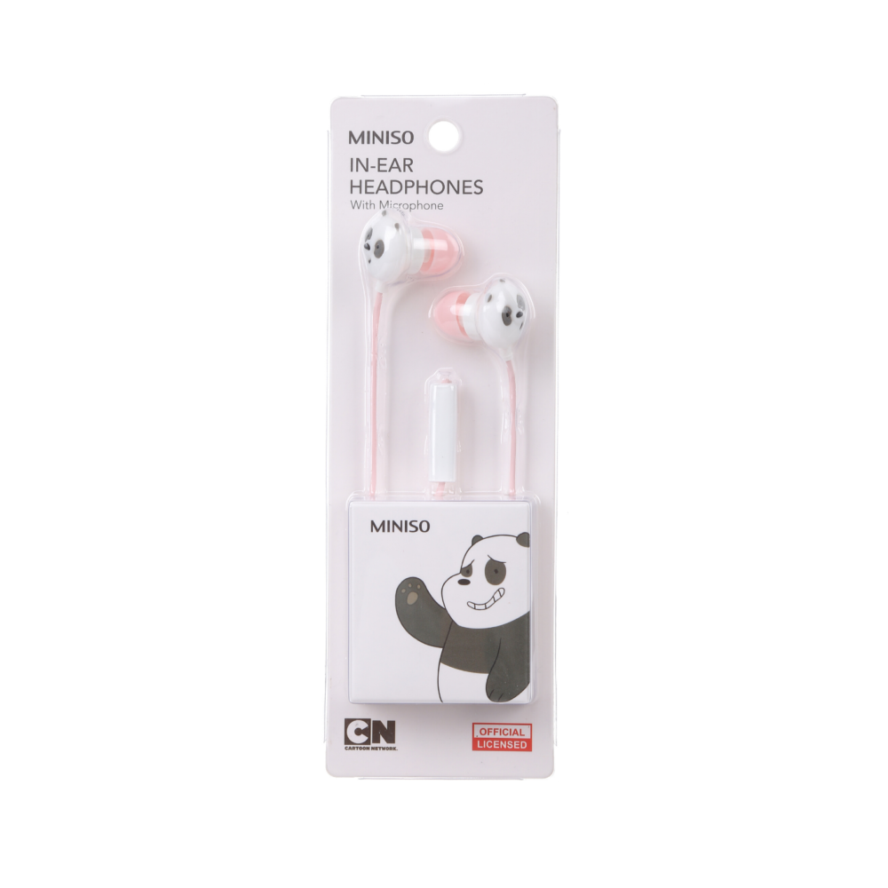 We Bare Bears Headphones with Microphone