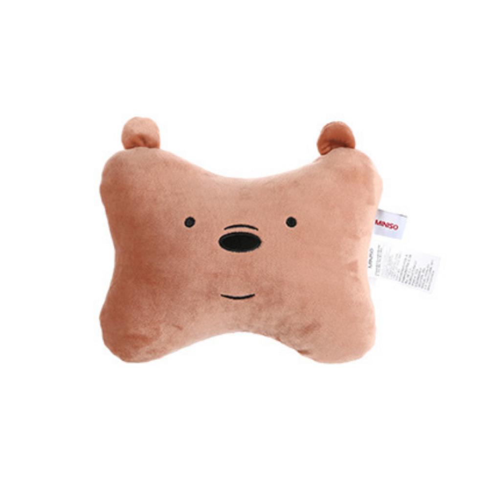 We Bare Bears Bone Pillow Grizz