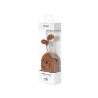 We Bare Bears - Earphones - Brown