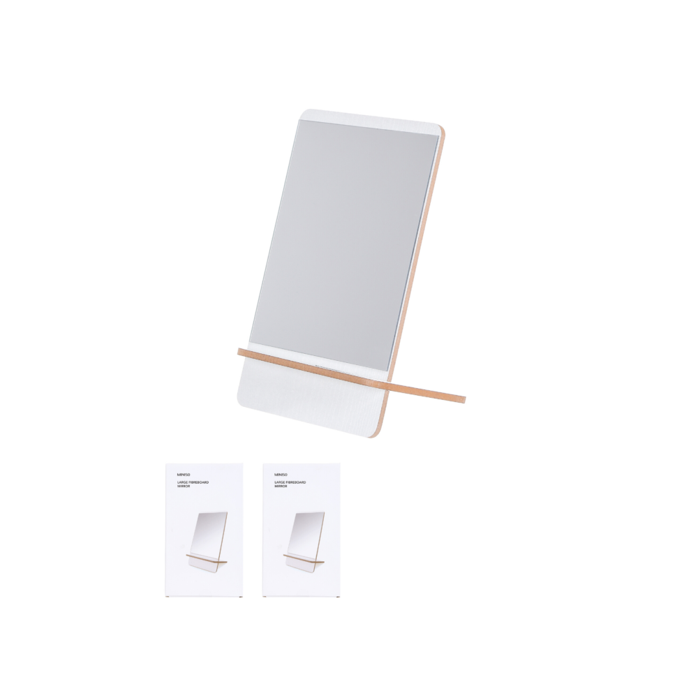 MINISO Large Fibreboard Mirror
