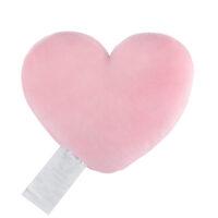 Heart Shaped Cushion Pink