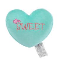 Heart Shaped Cushion Green