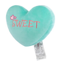 Heart Shaped Cushion Green