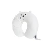 We Bare Bears U-shaped Neck Pillow With Eye Mask