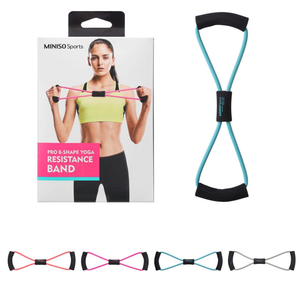 MINISO Sports Pro 8-Shape Yoga Resistance Band