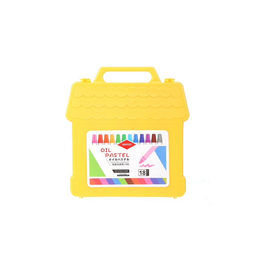 MINISO Oil Pastel 18 Colors