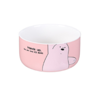 We Bare Bears Simple Bowl