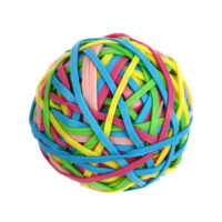 Candy Rainbow Series Rubber Band