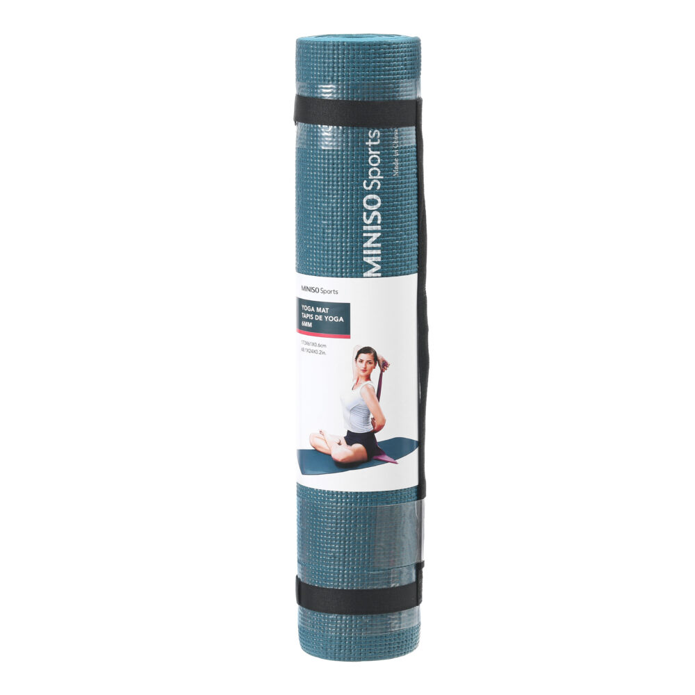 MINISO Sports 3mm Comfortable Yoga Mat-Dark blue