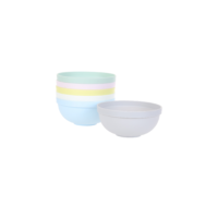 Colourful Eco-friendly Bowl - 6 Pack