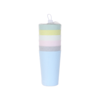 Colourful Eco-friendly Plastic Cup - 6 Pack
