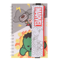 Marvel Memo Book with pencil case