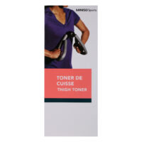 Miniso Sports Thigh Toner-Coral Red