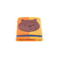 We Bare Bears-Jacquard Face Towel-Yellow&Orange