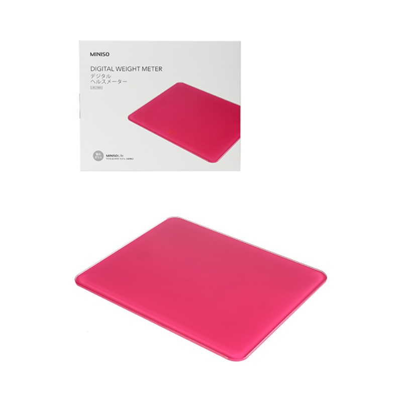 Stalinite Body Weight Scale-Red