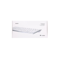 Wireless BT keyboard-silvery