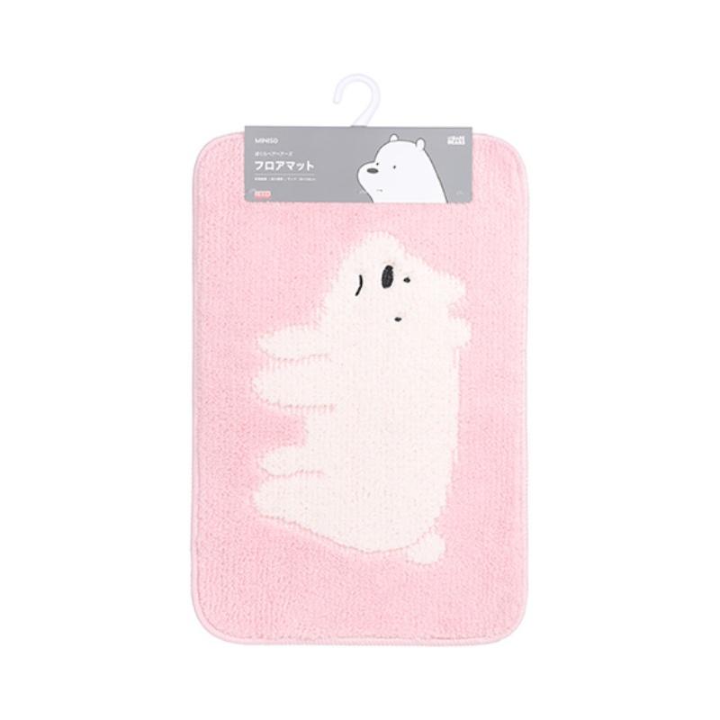 We Bare Bears Cartoon Floor Mat - Pink