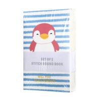 Penguin Stitch Bound Book Set - 5pcs