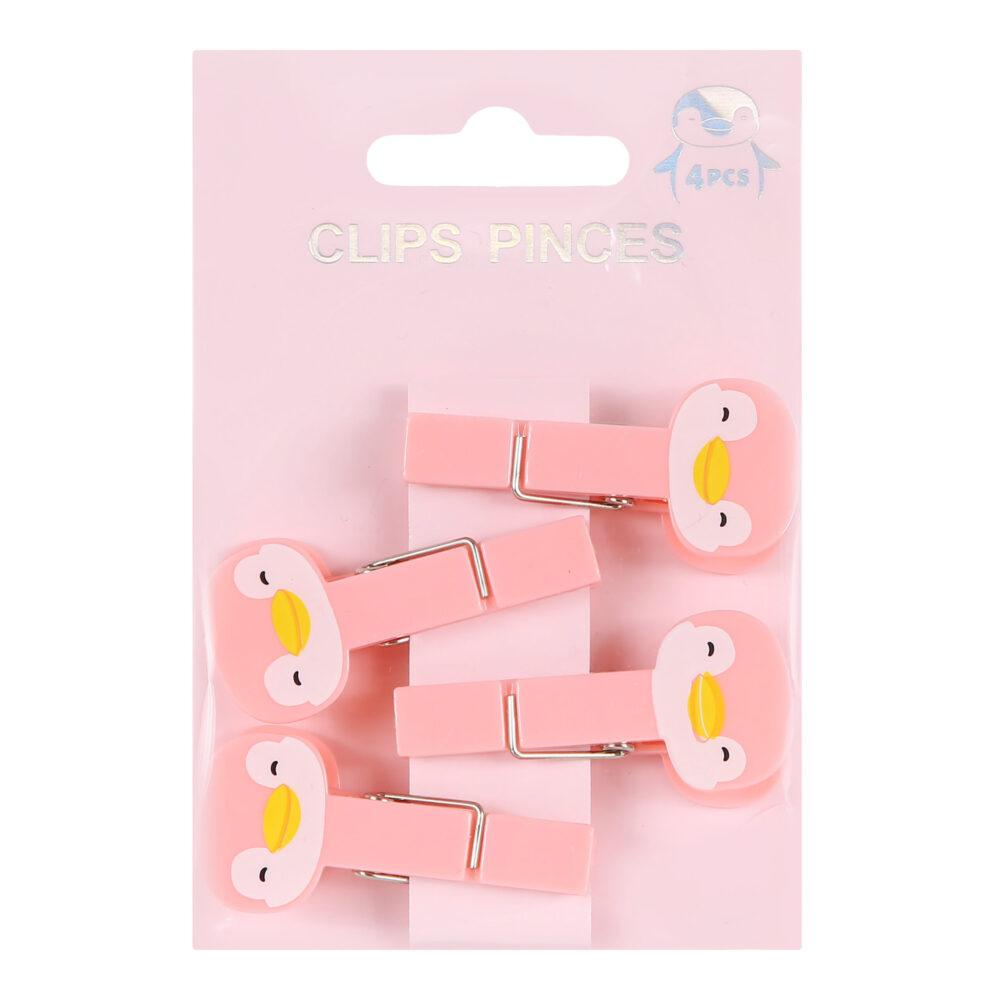Penguin Clips 4 Pcs