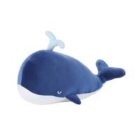 Ocean Series Whale Plush Toy-Dark Blue