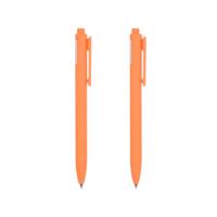 Retractable Gel Pen 0.7mm (Orange Barrel, Orange Ink)