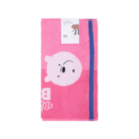 We Bare Bears-Jacquard Face Towel-Pink