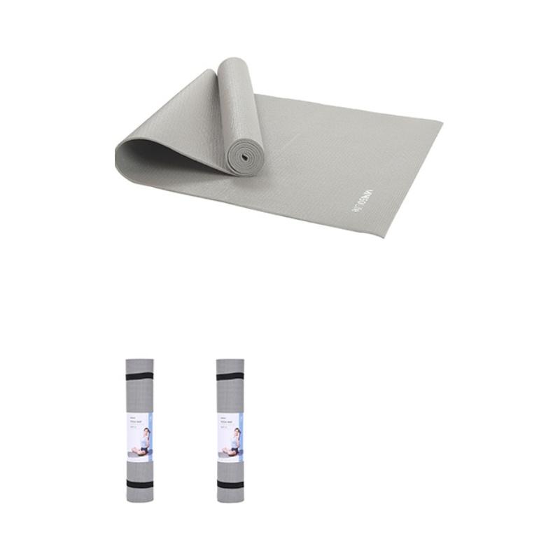 Miniso Sports 6mm Comfortable Yoga Mat-Grey