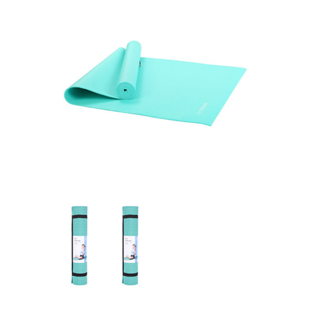 Miniso Sports 6mm Comfortable Yoga Mat-Light Blue