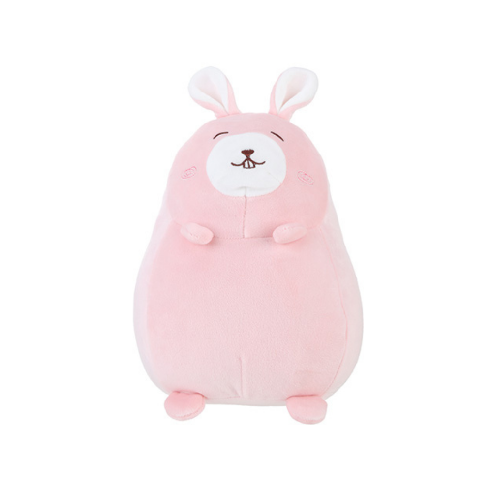 Round Rabbit Plush Toy