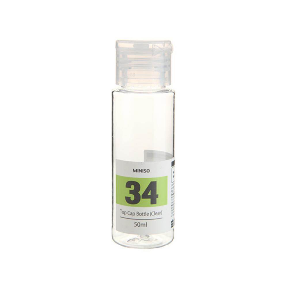 Top Cap Bottle Clear (50ml)