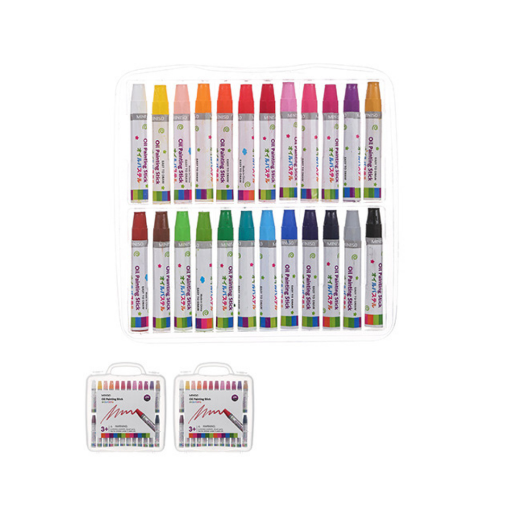24-color Oil Painting Stick