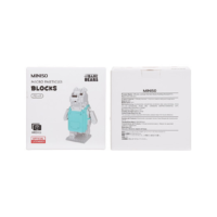 Officially Licensed We Bare Bears Building Blocks (440pcs)