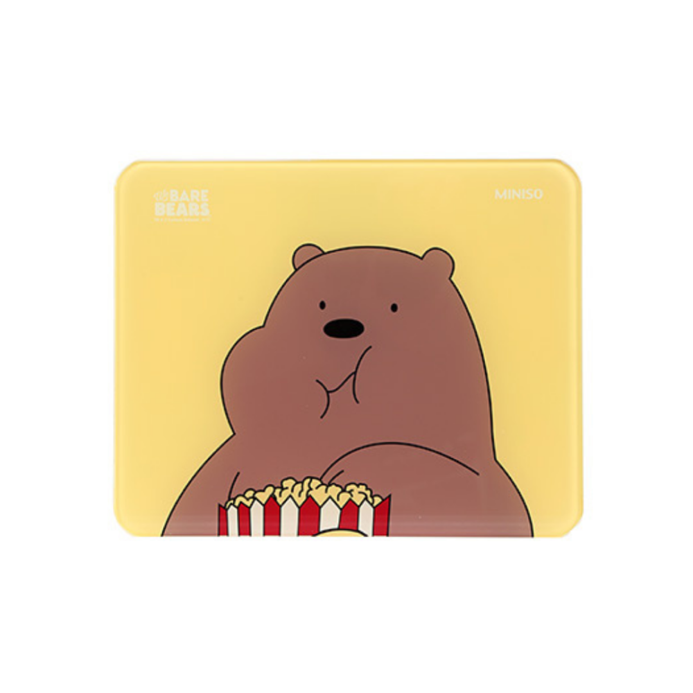 We Bare Bears-Tempered Glass Scale (Grizzly)