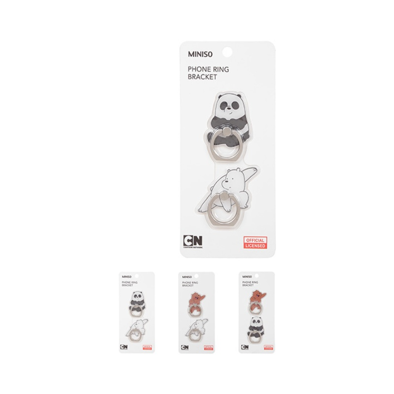We Bare Bears  Ring Bracket 2 Pack