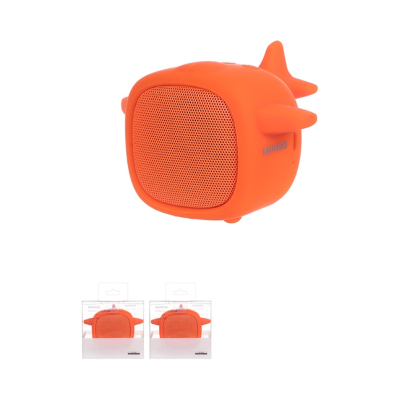 Portable Plane Wireless Speaker-K02 (Orange)