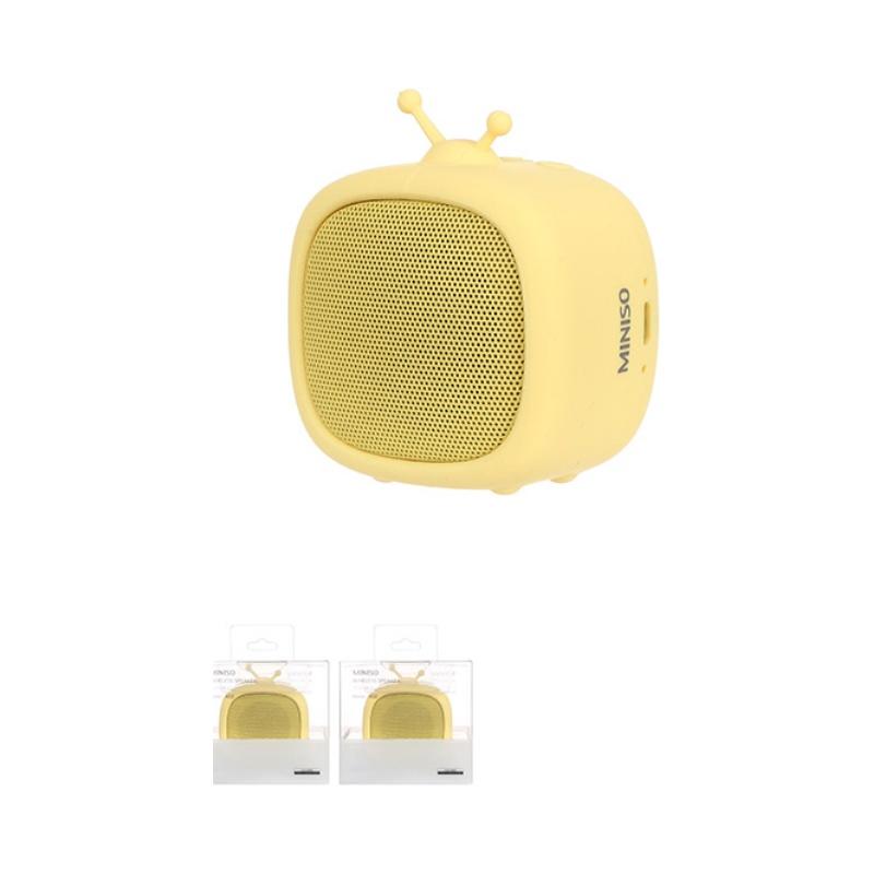 Portable Television Wireless Speaker-K02 (Yellow)