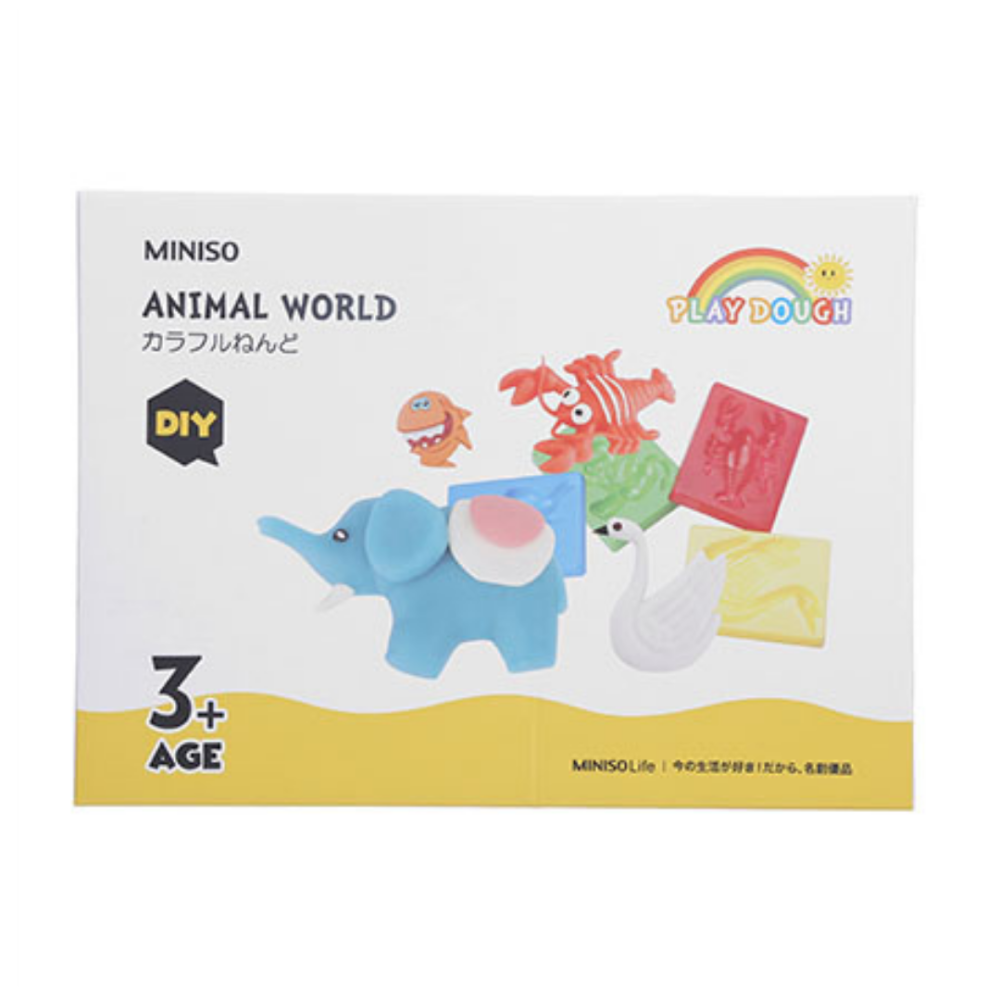 Animal World Play Dough
