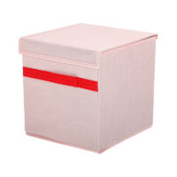 Storage Box With Lid (Pink)