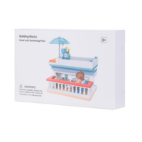 Building Blocks (Hotel with Swimming Pool)