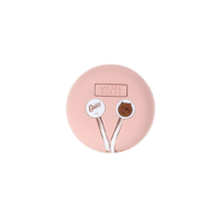 We Bare Bears-Earphones-Pink