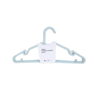 Simple Clothes Hanger 10 Pieces (Green)