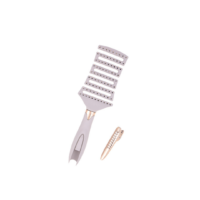 Vented Hair Brush with Clip