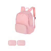 Minigo Foldable Backpack (Pink)