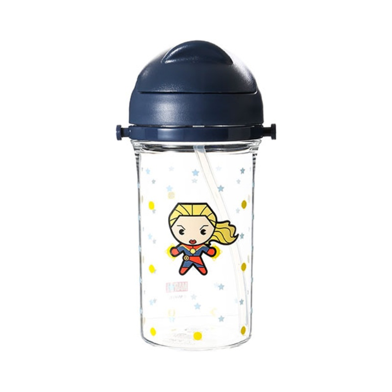 Plastic Water Bottle 400ml (Captain Marvel)