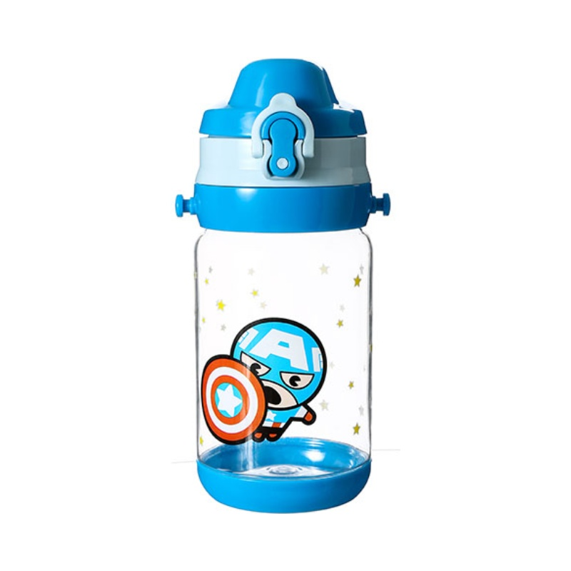 Water Bottle 520ml (Captain America)