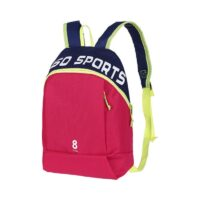 Small Sports Backpack (Rose Red)