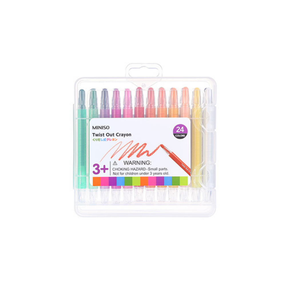 Twist Out Crayon 24 Colors
