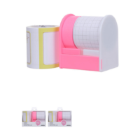 Creative Adhesive Paper Tape Set - Pink